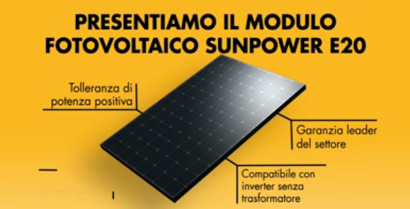 Modulo Sunpower E 20